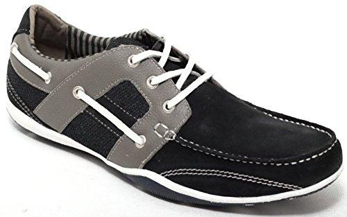 für Sailor Damen Gr 41 Leder 42 Herren Shoes Segelschuhe Slipper navy Bootsschuhe Mokassin blue Echt und PaW0xX8wqP