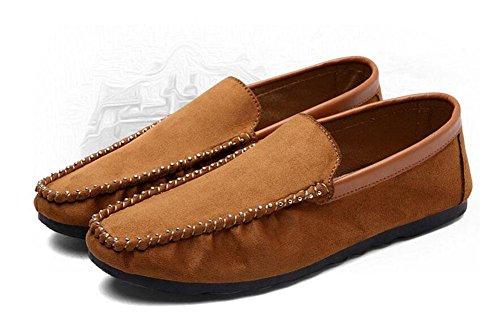 Zapatos de los hombres de los pies de los pies Zapatos de los guisantes de los hombres , black , 39