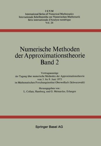 Etch Band - Numerische Methoden der Approximationstheorie: Band 2 (International Series of Numerical Mathematics) (Volume 2) (German Edition)