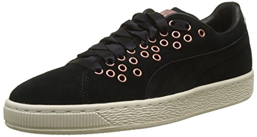 Suede Negro Mujer VR XL Lace Zapatillas para Puma dx1nWg