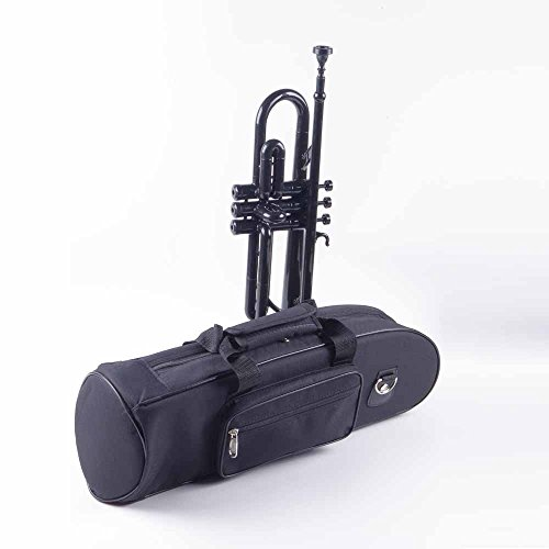 PAMPET Professional Plastic Trumpet Bb trumpet (Black) by PAMPET (Image #3)