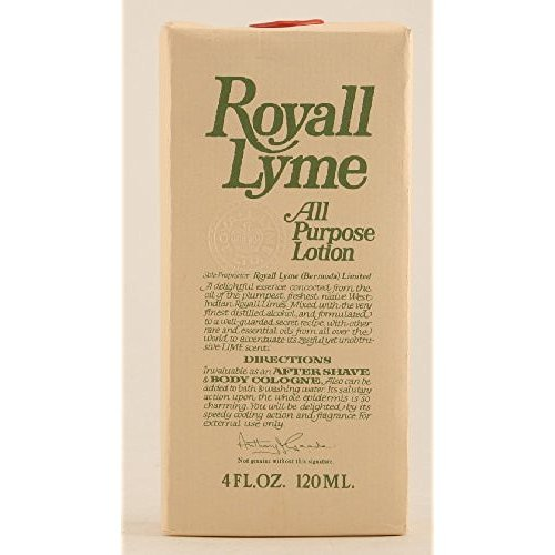 Royall Lyme Cologne by Royall Cologne Spray for Men 4 oz