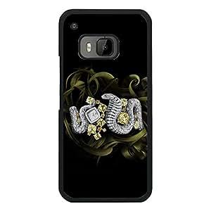 Creative Fashion Cartier Brand Logo Design Phone Case Premium Delicate Htc One M9 Phone Case Cover (Cartier Series)