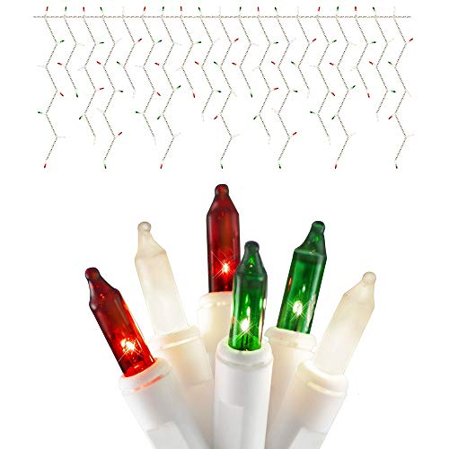 Red And Green Led Icicle Lights in US - 2