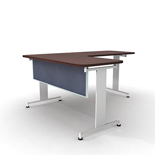 Obex 18X48A-A-TW-MP 18'' Acoustical Desk and Table Mounted Modesty Panel, Twilight, 18'' x 48'' by OBEX