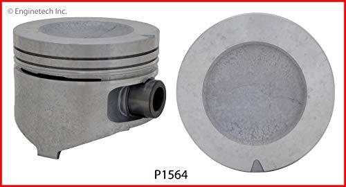 Enginetech P1564(6)STD Piston Ford 2.9L 177 Dish Top ()