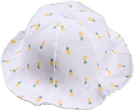 Youkara Sombrero del Sol de Bebés con Tipo de Pescador Algodón Gorro de Libre Playa Primavera y Verano para Niños Niñas Sombrero de Pescador Ropa para Bebés(Blanco): Amazon.es: Bebé