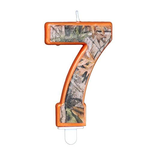 Havercamp Camo Birthday 3 Inch Number
