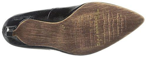 Tamaris 22447 - Zapatos de tacón para mujer Black Patent 18
