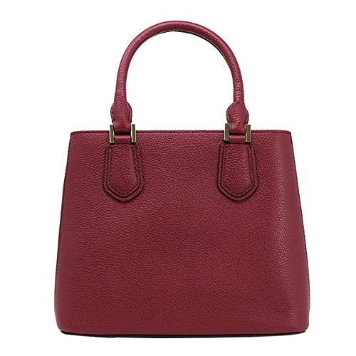 Amazon.com  Michael Kors Adele Leather Messenger Bag Mulberry Ballet  Shoes adf8ae8543ecc