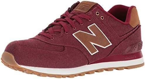 New Balance Men's ML574 Canvas Pack Sneaker