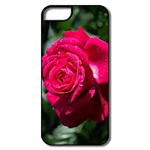 For Iphone 6Plus 5.5Inch Case Cover Pink Roses Branch Macro White/black Cases For Iphone 6Plus 5.5Inch Case Cover