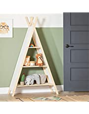 South Shore Furniture 100388 Sweedi Teepee Shelving Unit-Natural Cotton and Pine