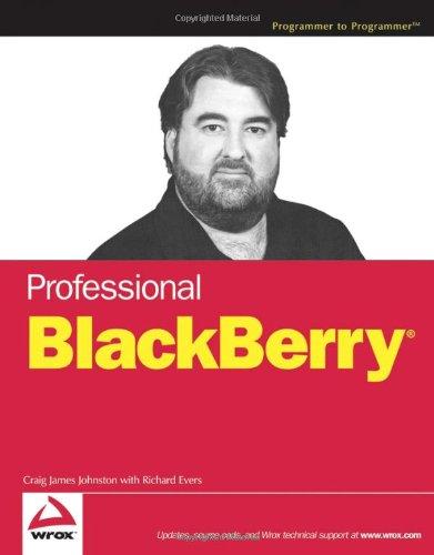 Professional BlackBerry (Blackberry Developer compare prices)