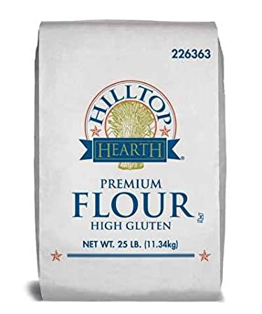 Amazon com : FLOUR, HIGH GLUTEN BLEACHED : Gourmet Food