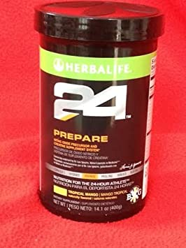 Herbalife 24 Prepare Canister 14.1 OZ Tropical Mango