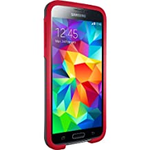 Otterbox SYMMETRY SERIES for Samsung Galaxy S5 - Retail Packaging - CARDINAL (SLATE GREY/SCARLET RED)