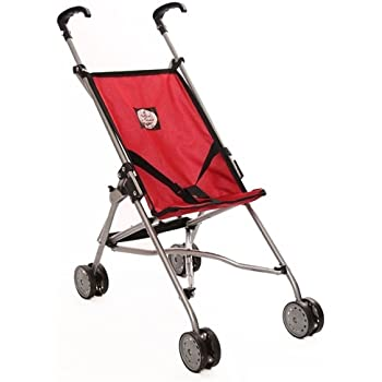 My First Umbrella Doll Stroller, Red