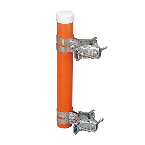 カーブミラー(大型)用 共架金具 HPLS-共架金具(70φ~120φ)   B07C5CLHMF