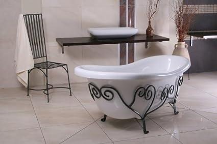 Vasca Da Bagno Stile Antico : Vasche da bagno retrò belle e intramontabili