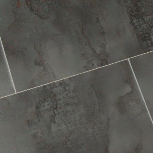 Kronoswiss MEGA Water Resistant Tile Effect Laminate Flooring Cardiff Grey  Black Marble 8mm 2.19m2 Wood Floor Kitchen Dining Room Bathroom5g Click  Plus ...