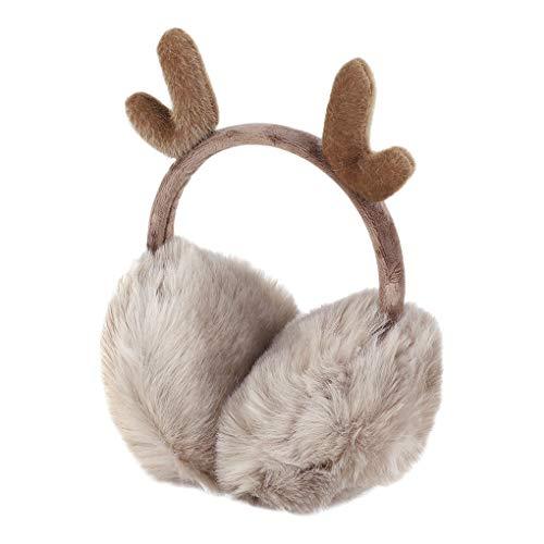 Women Girls Faux Fur Earmuffs Ear Muffs Covers
