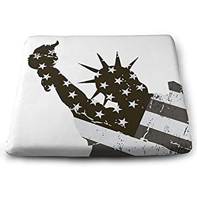 Sanghing Customized Goddess of Freedom 1.18 X 15 X 13.7 in Cushion, Suitable for Home Office Dining Chair Cushion, Indoor and Outdoor Cushion.: Home & Kitchen