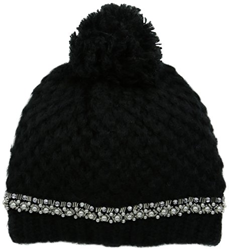 san-diego-hat-company-womens-chunkty-stitch-beanie-with-faux-gem-black-one-size