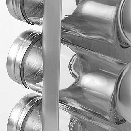 Amazon.com: PENGKE - Especiero de acero inoxidable, torre de ...