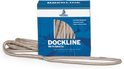 (SAMSON OCEAN SYSTEMS Gold N Braid 5/8 x 35' Dock Line)