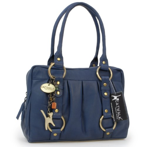 Collection Blu Manici Handbags Donna Con Catwalk Borsa TS0wd0q