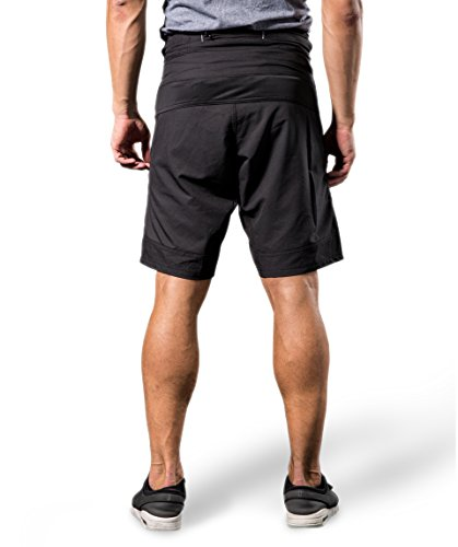 ea9a27986 Bpbtti Mens Baggy MTB Mountain Bike Shorts with Removable Biking Bicycle  Cycling Padded Liner Short