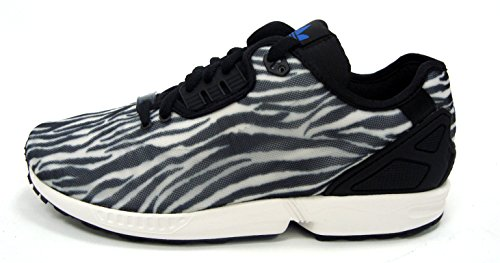 Sneakers Adidas Mens Zx Flux Decon B23728 Vintage Bianco / Core Nero / Blu Us 10