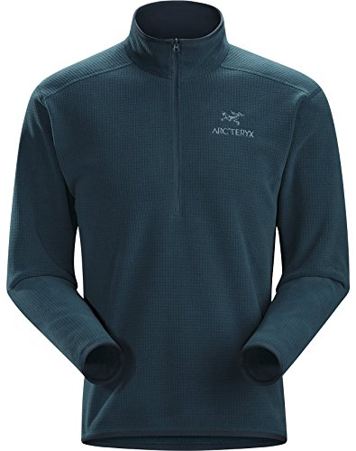 Arc'teryx Delta AR Zip Neck Mens Mid Layer - X-Large/Nocturne by Arc'teryx