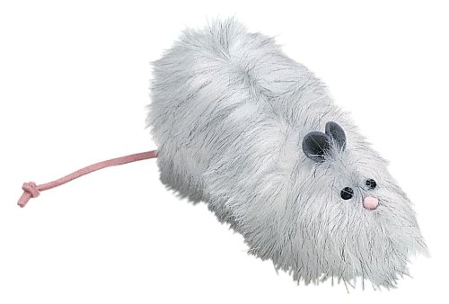 West Paw Design Rat-A-Cat-Cat Catnip-Filled Cat Toy with Bell, Assorted, My Pet Supplies