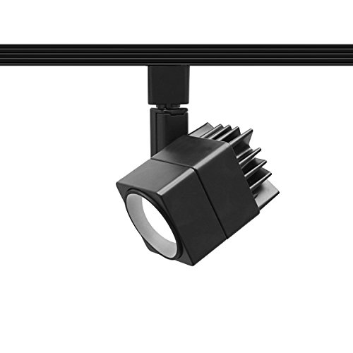 WAC Lighting H-LED207-30-BK Contemporary Summit ACLED 15W Beamshift Line Voltage Cube H-Track (Cube Track Light)