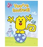 Wow Wow Wubbzy Invites 8ct [Contains 4 Manufacturer Retail Unit(s) Per Amazon Combined Package Sales Unit] - SKU# 22564