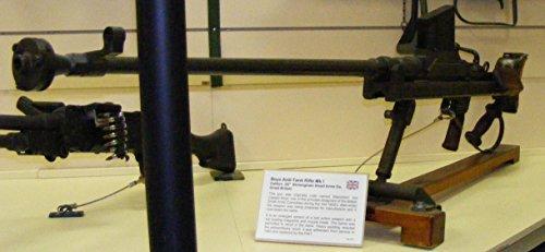 LAMINATED POSTER Boys Anti-Tank Rifle Mk I, on display at th