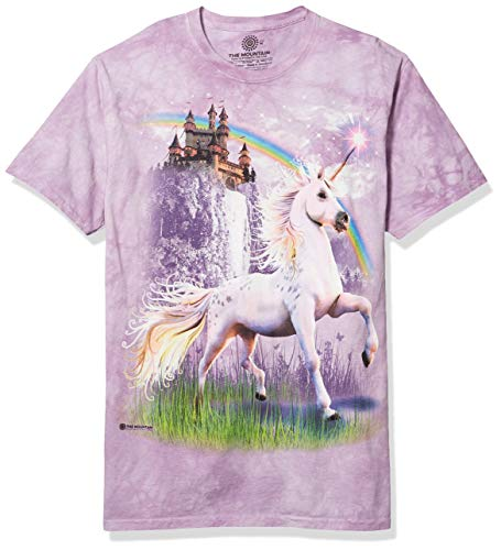 The Mountain Mens Unicorn Castle T Shirt
