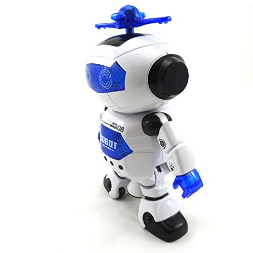 Hot Amazing Dancing Toy Robot Electronic Battery Powered Fast Dancing Robot supplier