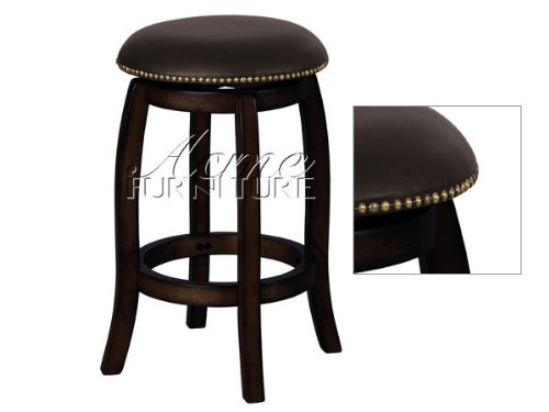 Acme Furniture 07246 Bar and Game Room Swivel Counter Stool