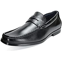 BRUNO MARC NEW YORK Bruno Marc Men's Harry-02 Dress Penny Loafers Shoes