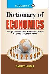 Dictionary of Economics Paperback