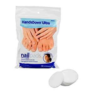 Graham Professional Beauty Products HandsDown Nail Cotton Rounds 60 Count Wipes