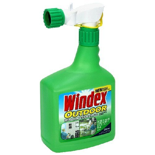Windex Outdoor Glass & Patio Cleaner, 32oz , Pack of 3