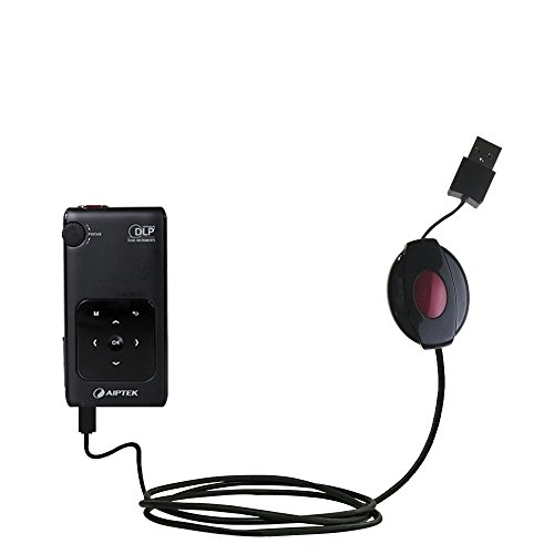 Das ausziehbare Lade über USB für Aiptek PocketCinema v50 Erfüllt beide Funktionen