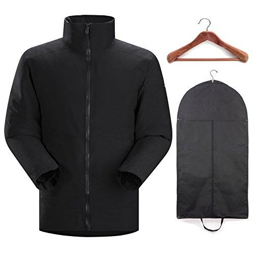 Arc'teryx Men's Camosun Parka Black w/Cedar Hanger and Garment Bag Medium by Arc'teryx