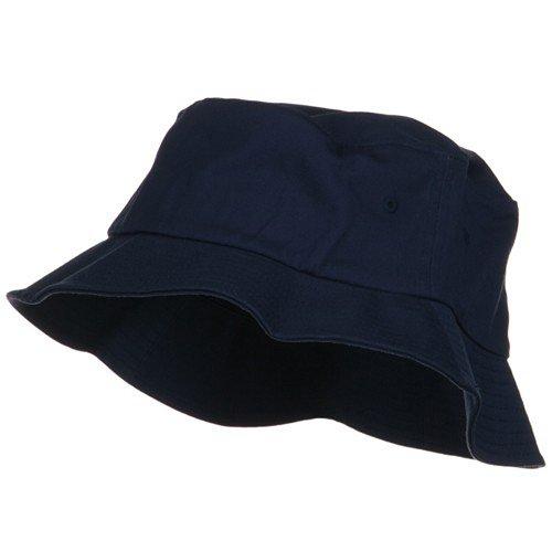 One Size Flexfit Cotton Twill Bucket Hat - Navy W11S49B - Buy Online in  UAE.  f66a8a8211e