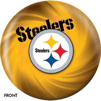 KR Strikeforce NFL Pittsburg Steelers Bowling Ball 10lbs ()