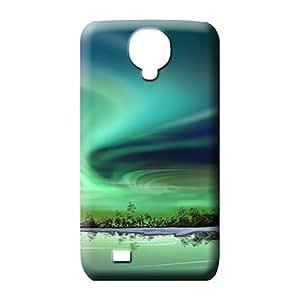 samsung galaxy s4 phone back shell Protector Impact series northern lights phone wallpaper